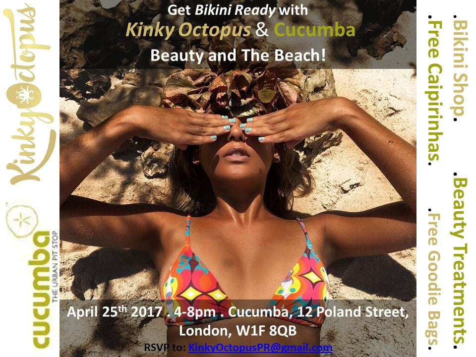 Beauty & The Beach! Soho 25.4.2017