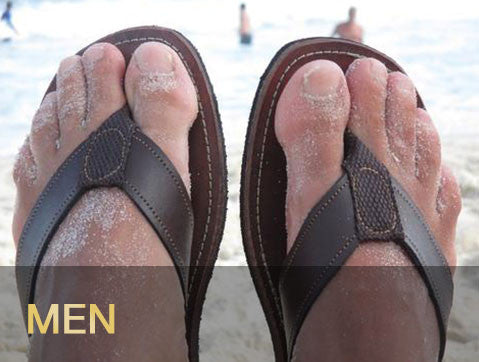 Leather Sandals - Men's