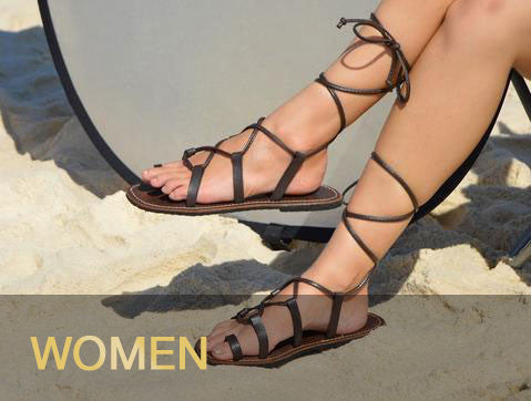 Leather Sandals - Women's