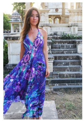 Sophie Alexia Silk Resortwear Dresses