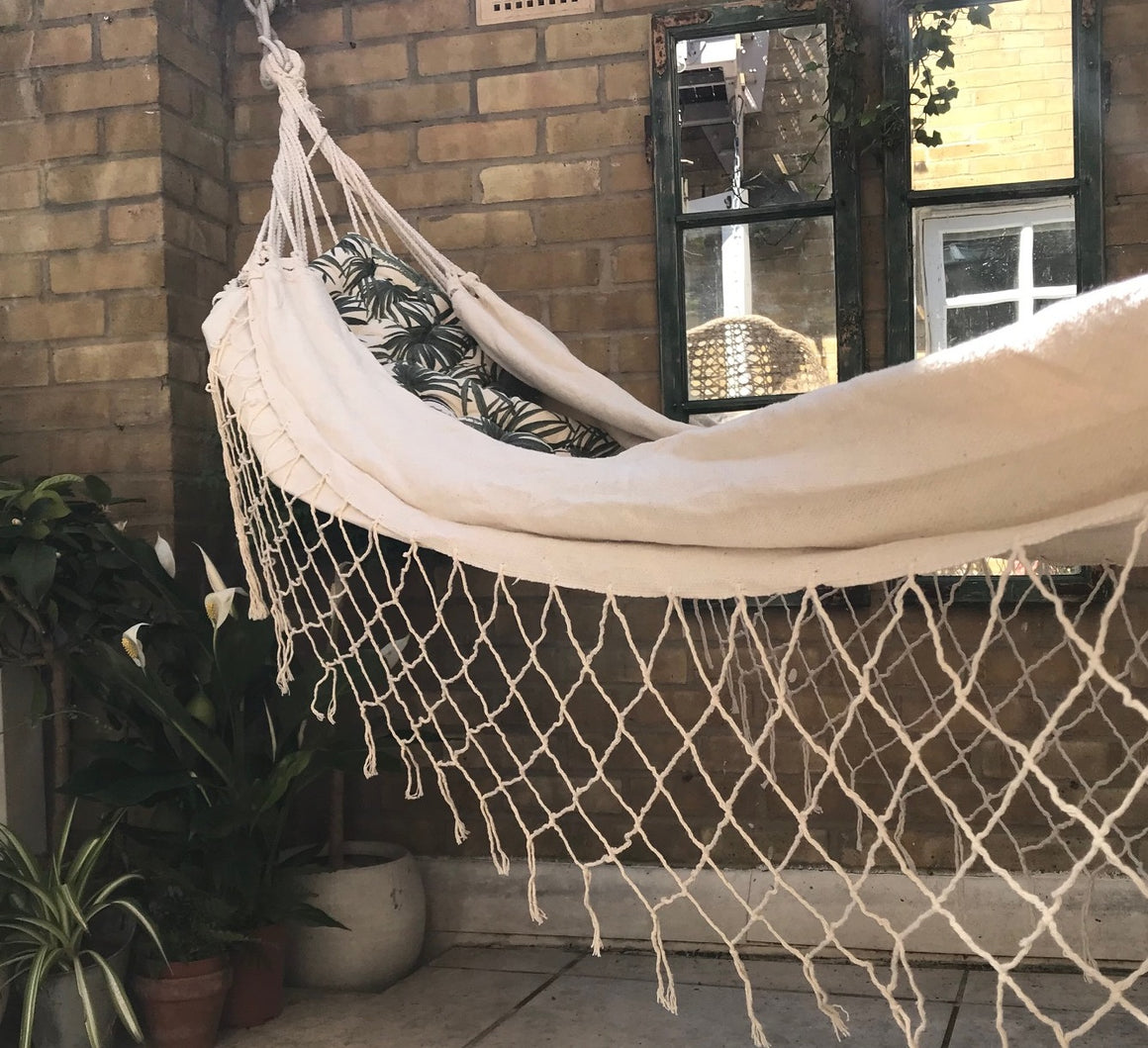 Bahia Cream Cotton Hammock