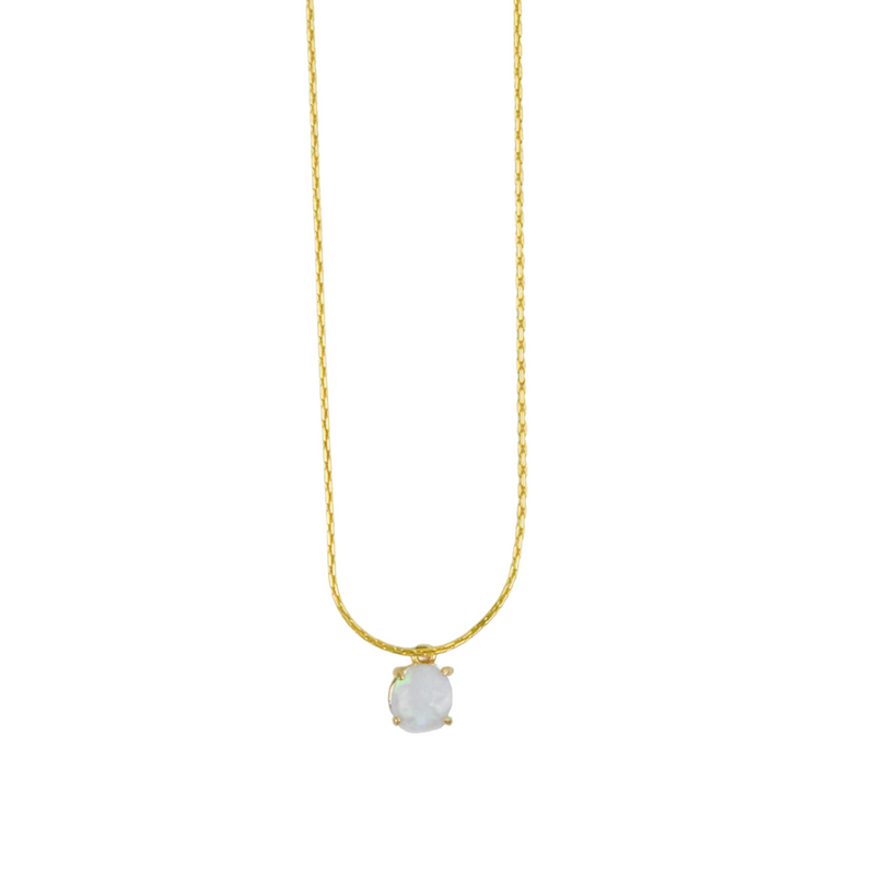 Eva Opal Necklace