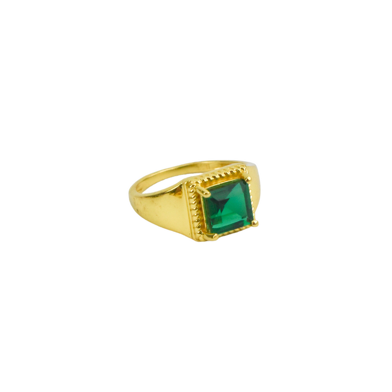 Ophealia Ring - Emerald