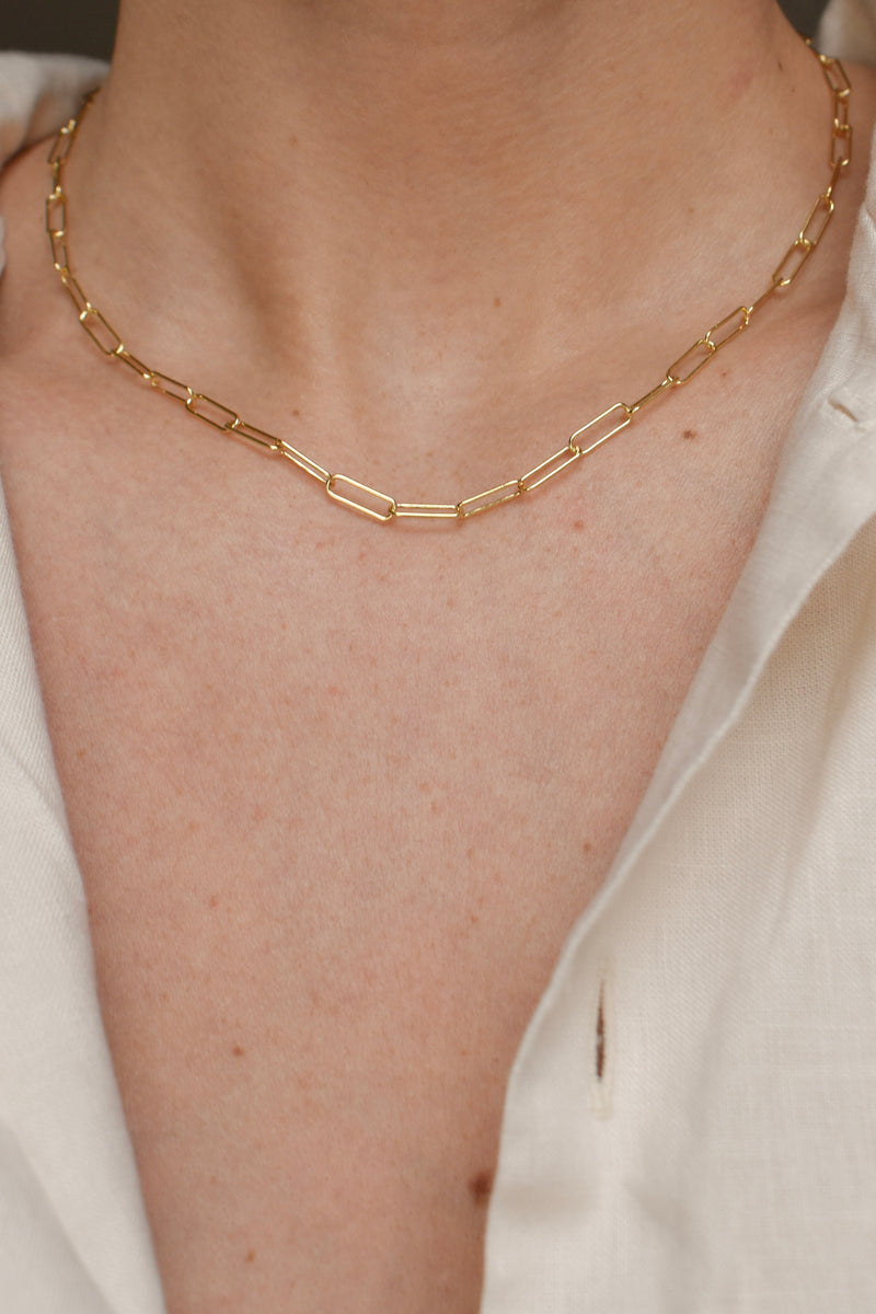 SAMPLE Paperclip Chain