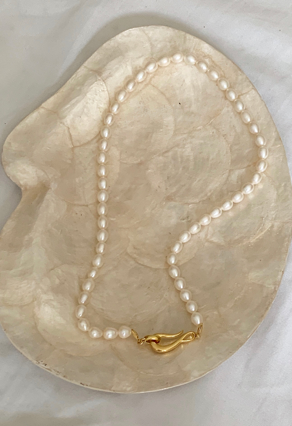 Ariel Pearl Necklace - Sold Out