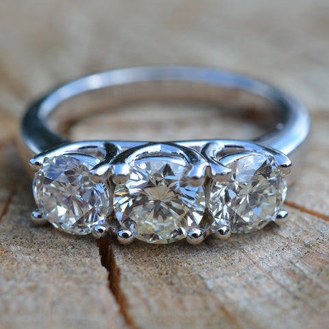 Secondhand 3 Stone Diamond Ring