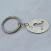 Handmade Medium Oval Hayling Island Key Ring