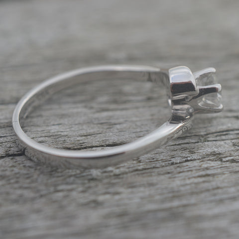 Secondhand 18ct White Gold & Diamond Ring