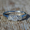 Platinum Diamond Trilogy Ring
