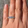 Platinum 5 Stone Diamond Ring
