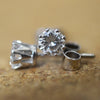 Secondhand 18ct White Gold Diamond Stud Earrings