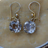 Secondhand Topaz Drop Earrings