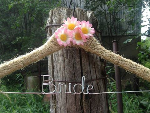 Customized Rustic Hanger