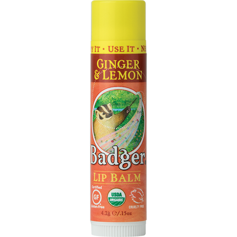 Classic Lip Balm - Ginger & Lemon