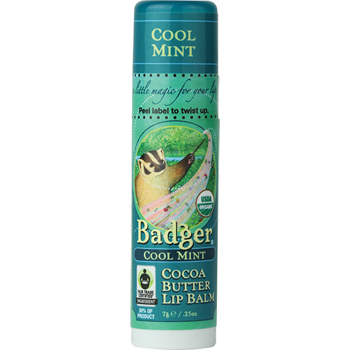 Cocoa Butter Lip Balm - Cool Mint