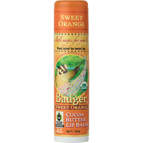 Cocoa Butter Lip Balm - Sweet Orange