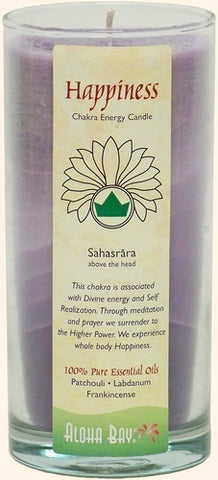 Chakra Energy Candle - Happiness