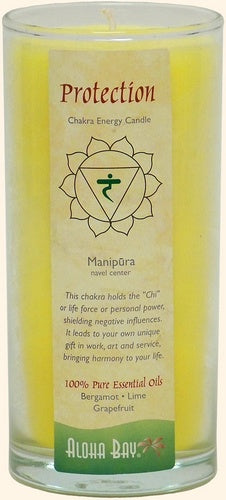 Chakra Energy Candle - Protection