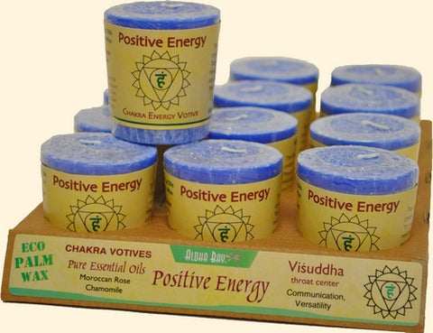 Chakra Energy Votive Candle - Positive Energy