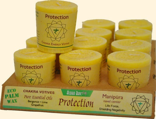 Chakra Energy Votive Candle - Protection