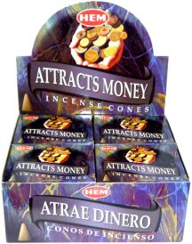 Attracts Money Cones