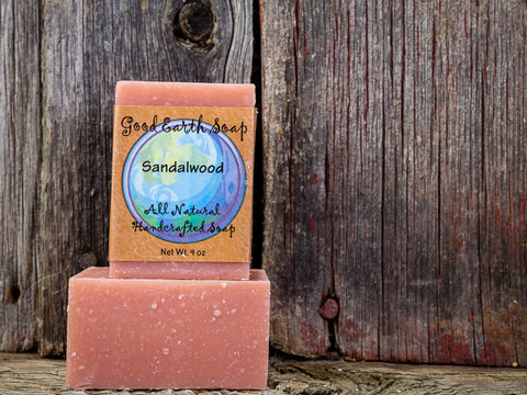 Good Earth Handmade Soap - Sandalwood