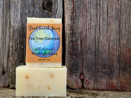 Good Earth Handmade Soap - Tea Tree Oatmeal