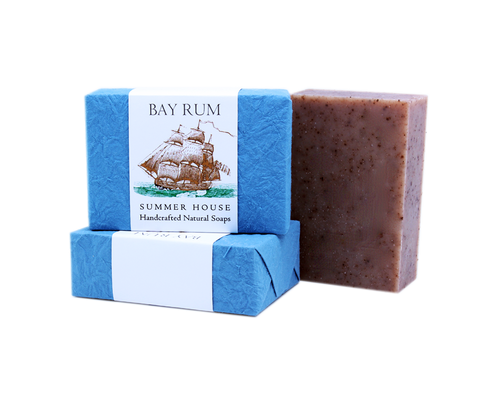 Handcrafted Natural Soaps - Bay Rum