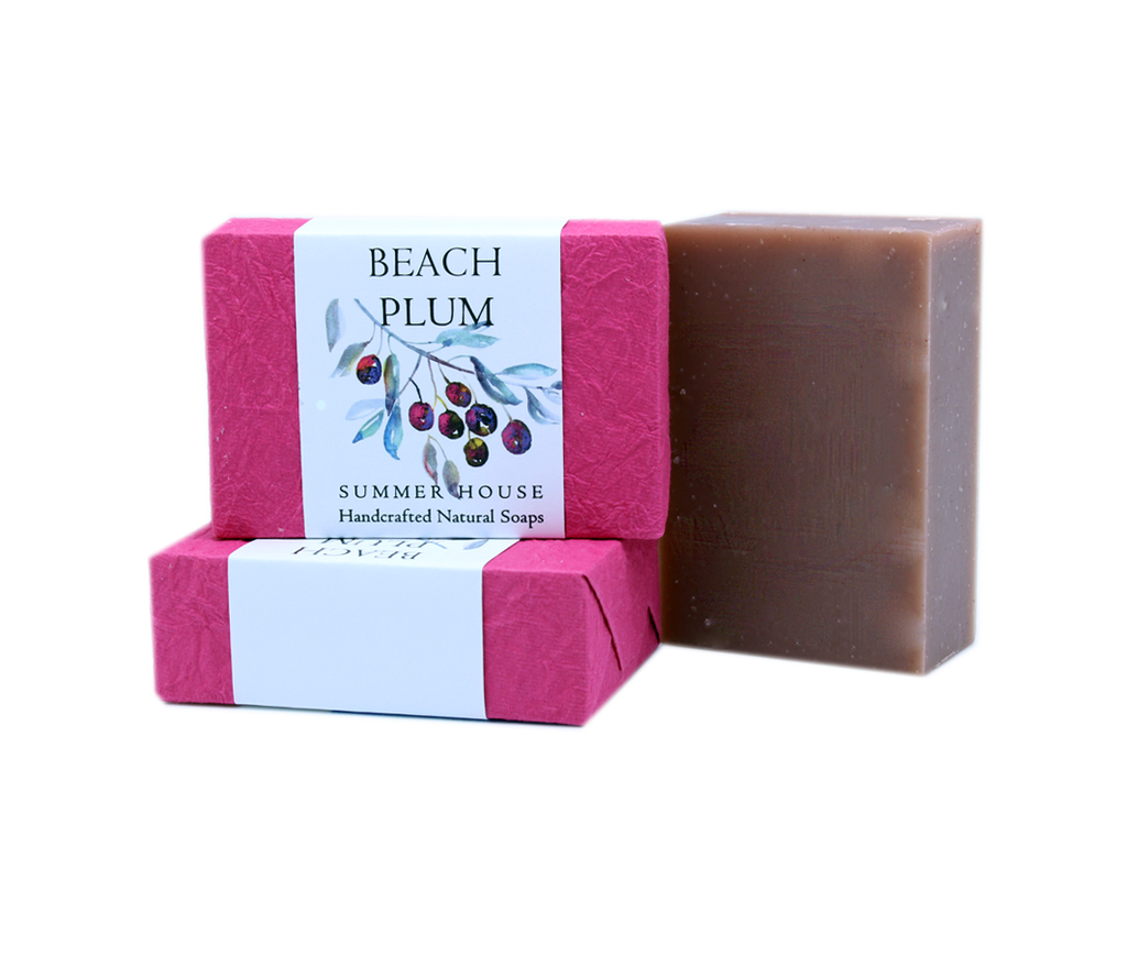 Handcrafted Natural Soaps - Beach Plum