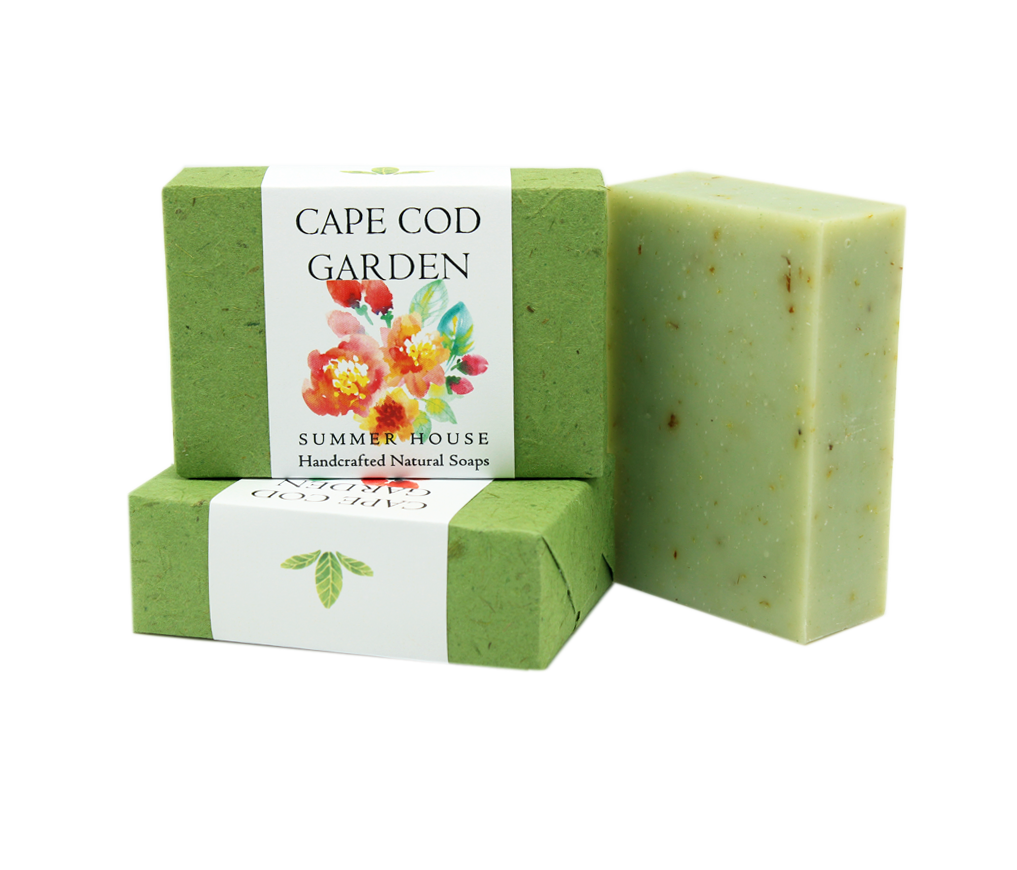 Handcrafted Natural Soaps - Cape Cod Garden