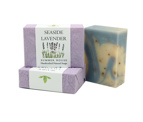 Handcrafted Natural Soaps - Seaside Lavender
