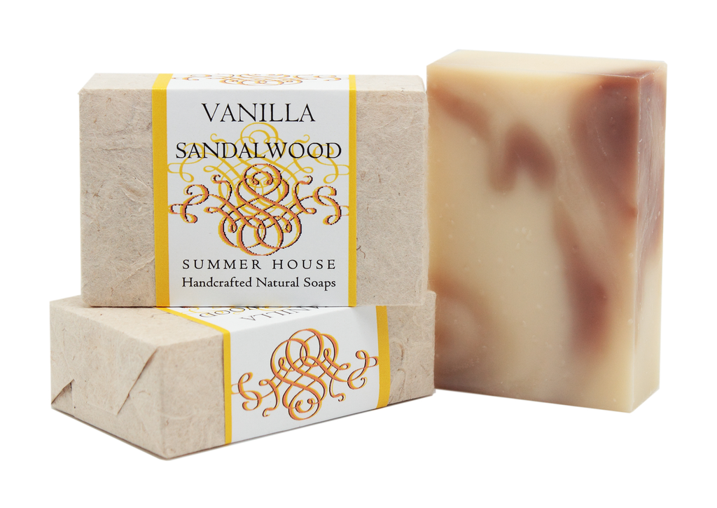 Handcrafted Natural Soaps - Vanilla Sandalwood