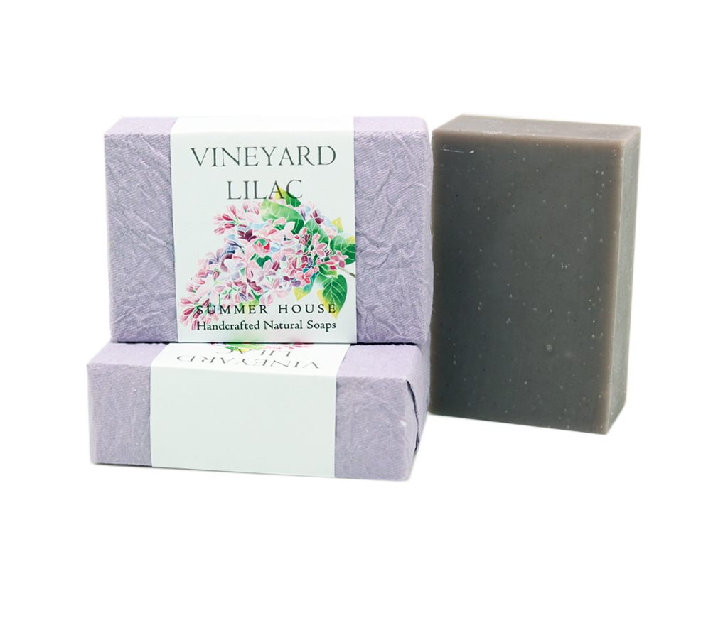 Handcrafted Natural Soaps - Vineyard Lilac
