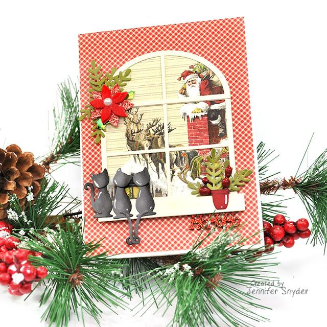 Celebration of Christmas in Cat Style- DIY Cards | Buttons Galore and More