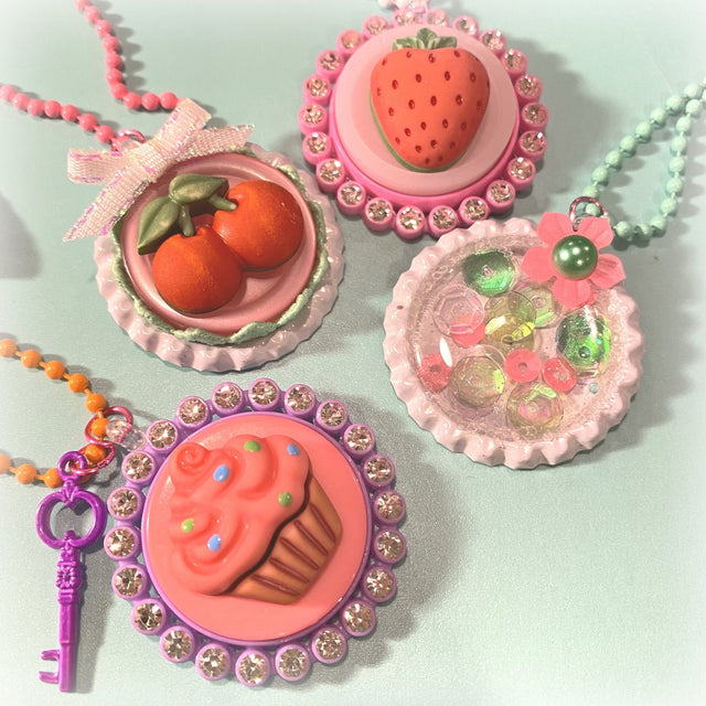 MINI Tutorial: Bottle Cap Charms | Buttons Galore and More