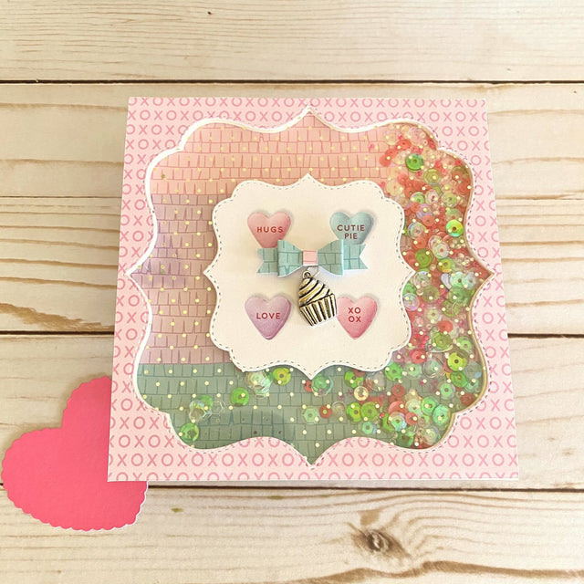 MINI Tutorial: Charm Shaker Card | Buttons Galore and More
