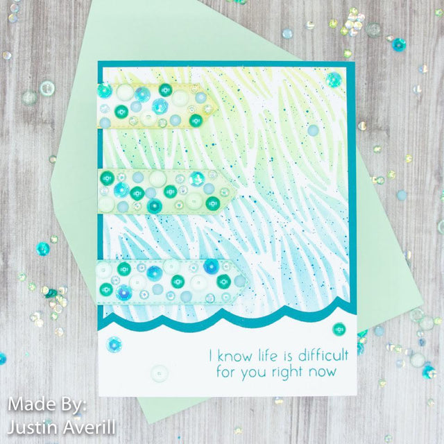 MINI Tutorial: DIY Encouragement Card | Buttons Galore and More