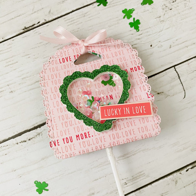 MINI Tutorial: Lucky in Love Lollipop Holder | Buttons Galore and More