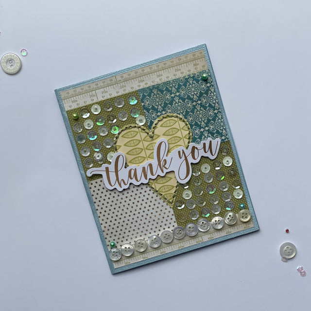 MINI Tutorial: Thank You Card | Buttons Galore and More