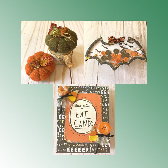 Mini Tutorials: Autumn & Halloween Crafts | Buttons Galore and More
