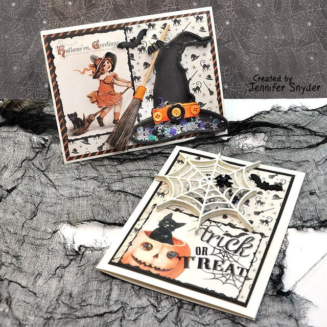 Shaking up Smiles with Halloween Shaker Cards | Buttons Galore and More