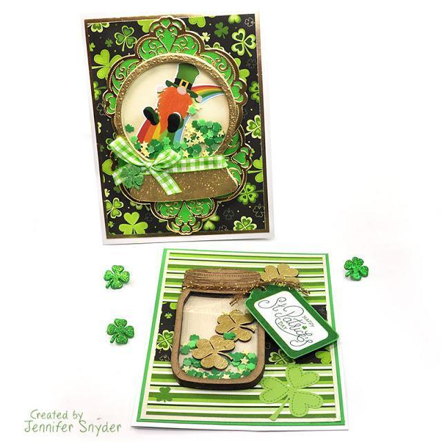 St. Patrick's Day Cards Part 2 | Buttons Galore and More