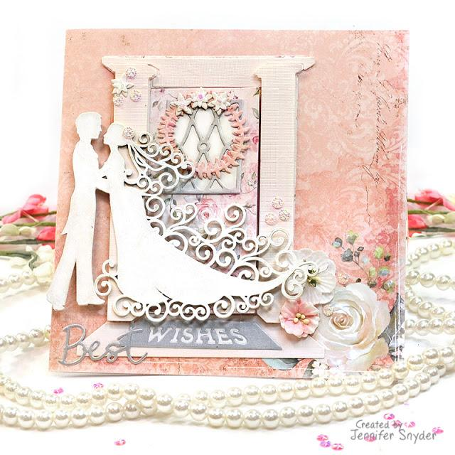 Wedding Day Romantic Cards | Buttons Galore and More