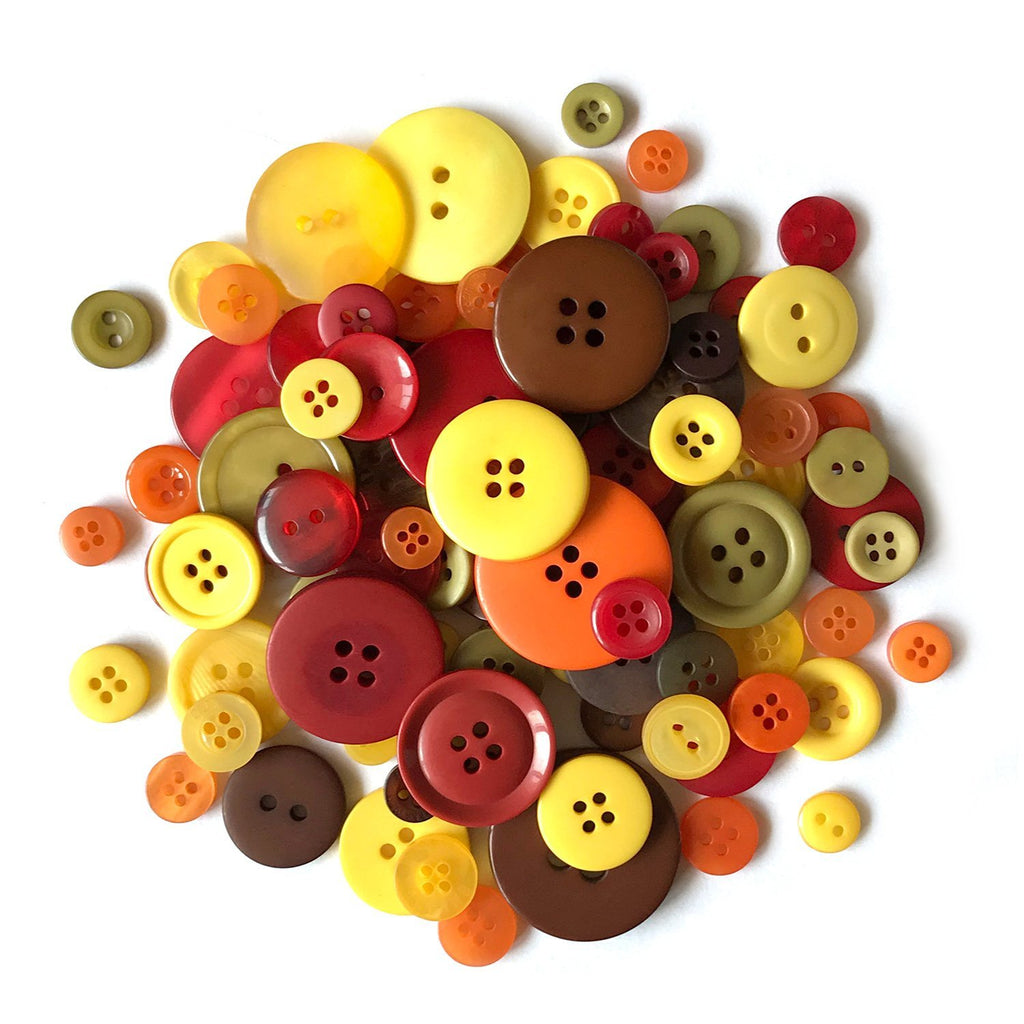 Autumn Buttons-CJ102 - Buttons Galore and More