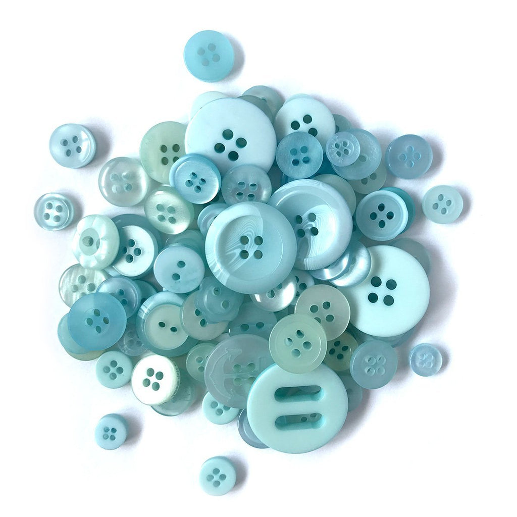 Baby Blue - BCB156 - Buttons Galore and More