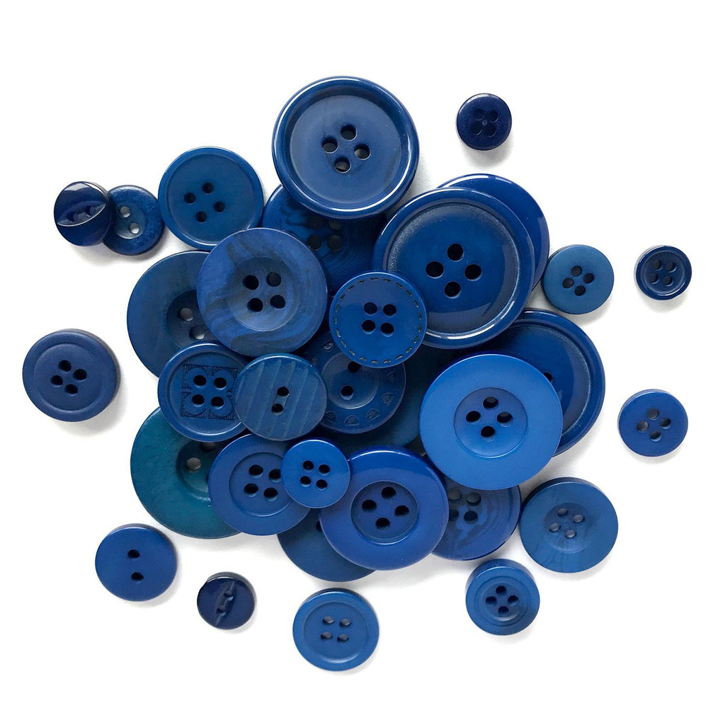 Blue - BB24 - Buttons Galore and More