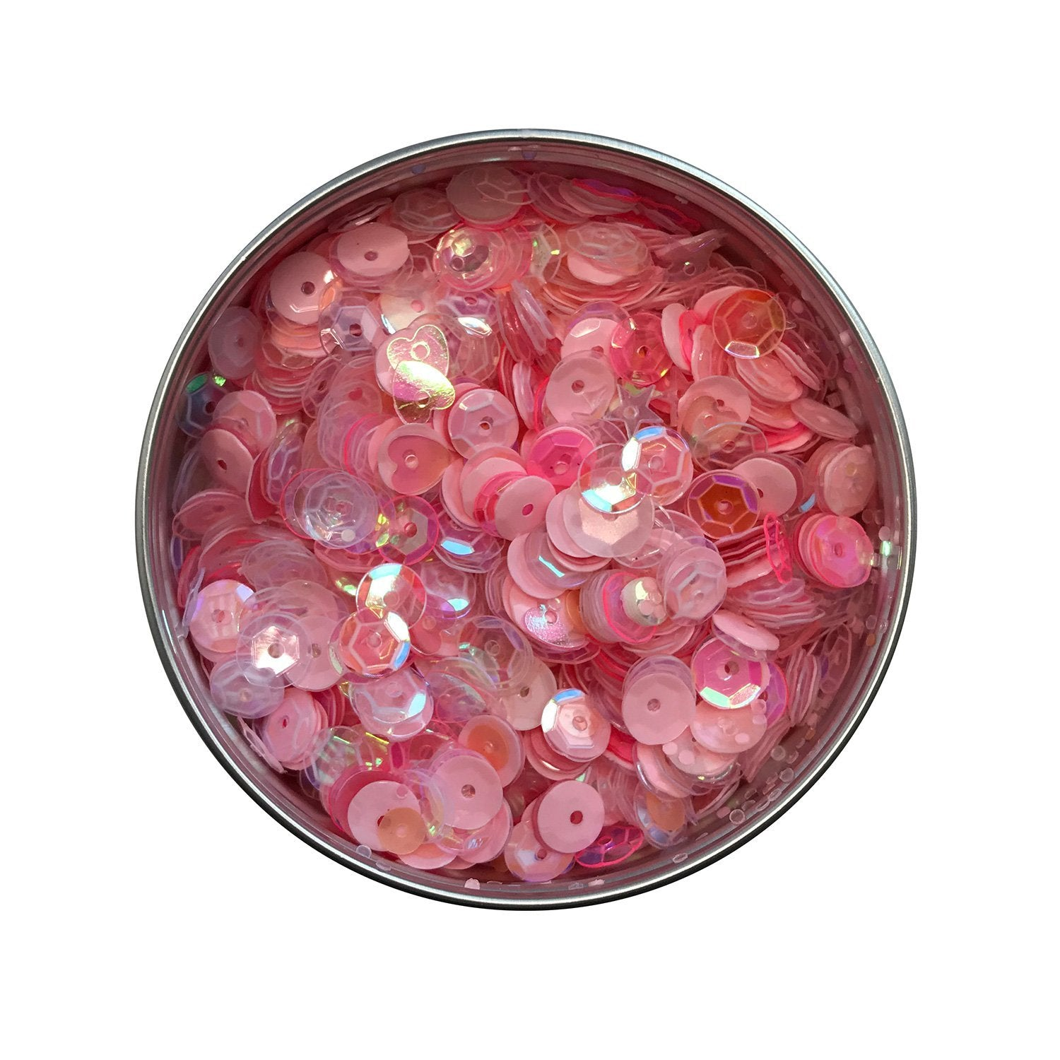 Blush Sequin Tin