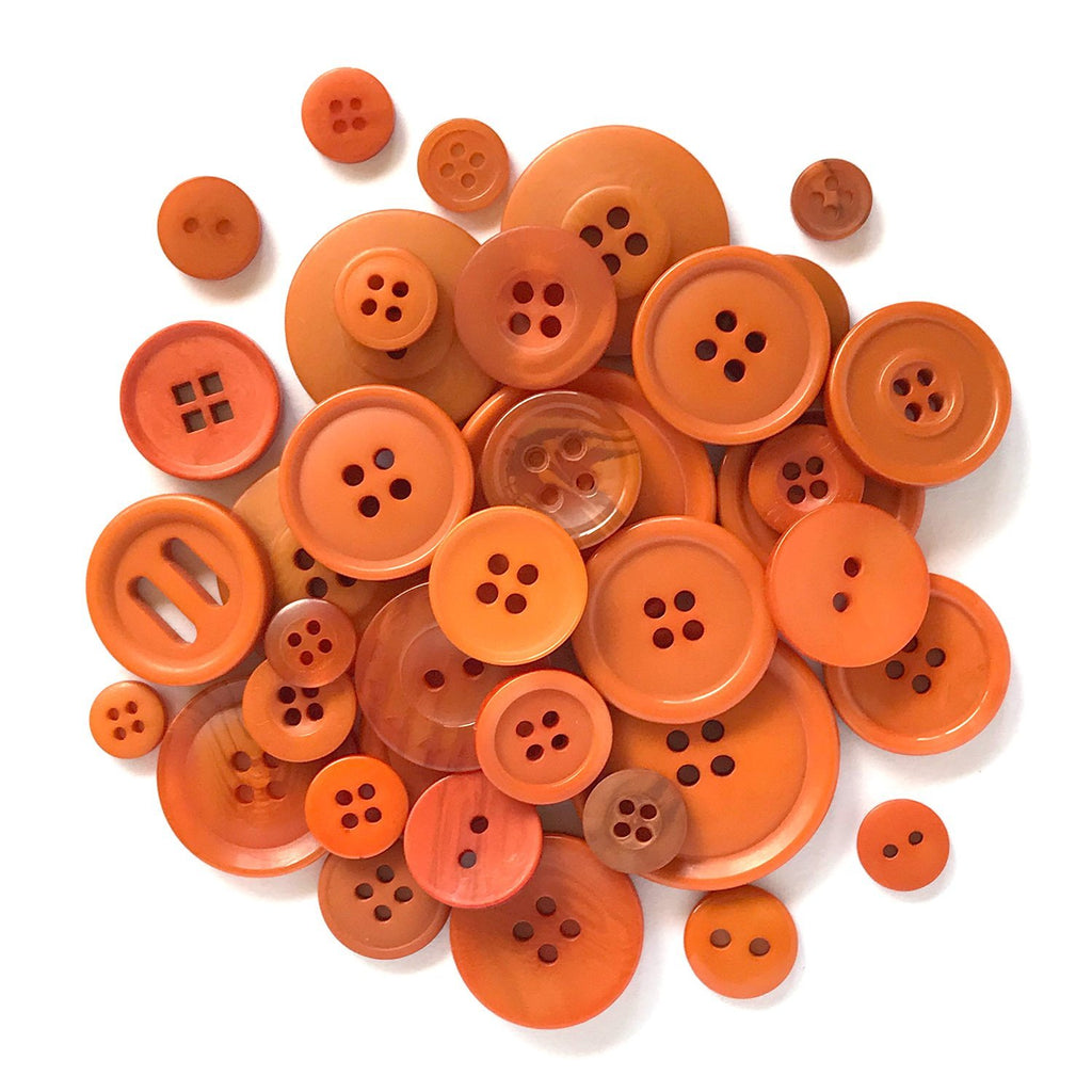 Burnt Orange - BTP717 - Buttons Galore and More