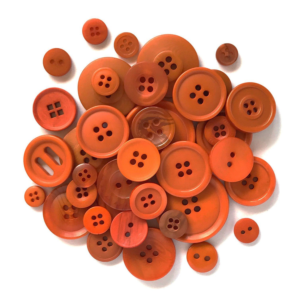 Carnival Orange - BCB118 - Buttons Galore and More