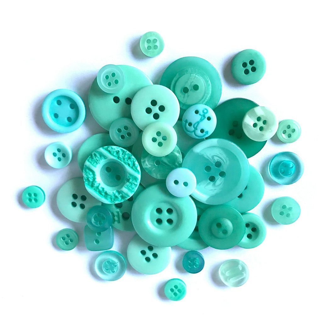 Carribean Blue - BTP326 - Buttons Galore and More